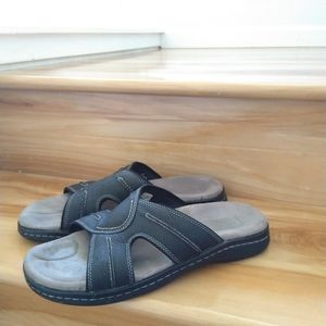 Dockers men slides sandals size 11
